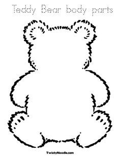 For Teddy Bear Body Parts Labeling