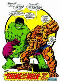 Thing and Hulk