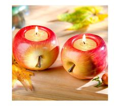 "2 svícny ""Jablko"" 