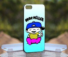 Mac Miller mac, Print on Hard Cover iPhone 4/4S Black Case   MonggoDiTumbas - Accessories on ArtFire