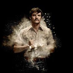 Póster de Javier Peña - NARCOS - Netflix. #Narcos #PabloEscobar #mafia #Cartel #Drogas #Netflix #series #JavierPeña #Medellin #DEA