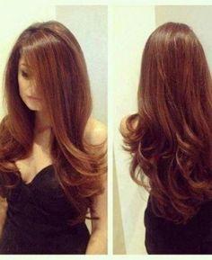 Gorgeous - Auburn Hair . I keep ruining mine with hair color: /