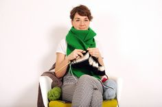 Do Something #audioslideshow via @Angela Bertasson Williams: How to knit a scarf  To view, click on image or here http://www.theguardian.com/lifeandstyle/audioslideshow/2014/jan/11/do-something-project-knit-scarf