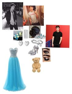 Prom With Shawn Mendes!!!❤️☺️❤️❤️!!!          By:Nicole by puppylover920071 on Polyvore featuring polyvore, fashion, style, Rainbow Club, Palm Beach Jewelry and Links of London