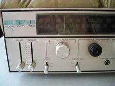 1970's KLH Model 51  Stereo Receiver.