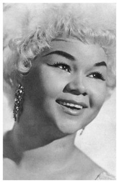 Etta James Portrait Matriarch of the Blues Music Poster 11x17