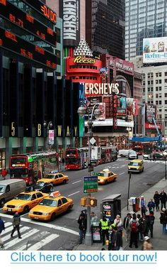 New York City ~ Times Square #nyc #tours #bus_tours