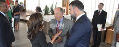 Ministro Mauro Vieira participa de almoço com ministros do Suriname no hotel Ramada ( Veja as fotos )
