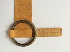 DIY-no-sew-celine-suede-brass-ring-bracelet-desmitten - DIY-no-sew-celine-suede-brass-ring-bracelet-desmitten - Leather Bracelet Tutorial, Suede Bracelet, Ring Bracelet, Bracelets, Leather Cuffs, Leather Earrings, Leather Jewelry, Beaded Jewelry, Diy Jewelry