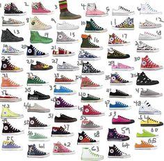 converse all colors - All Converse Colors