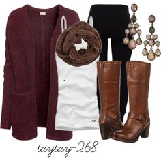 """at the diner on the corner"" by taytay-268 on Polyvore"