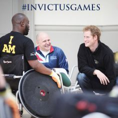 Prince Harry and Martin Colclough at the team selection launch at for Heroes recovery centre Help For Heroes, British Armed Forces, Invictus Games, First Game, Love My Job, Prince Harry, The Selection, Charity, Product Launch