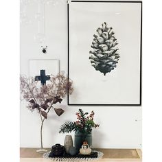 1:1 Pine Cone by Form Us With Love. Find print at https://paper-collective.com/product/nature-11-pine-cone-white/ #papercollective #nature #art #illustration #aesthetic #pinecone #drawing #minimalistic #print #poster #posterdesign #design #interior #home #decor #homedecor