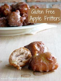 {Gluten Free} Apple Fritters   Super Easy