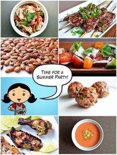 Recipes & Tips for Throwing a Paleo Summer Party! by Michelle Tam http://nomnompaleo.com