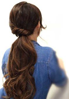 Easy Prom Updo Long Hair