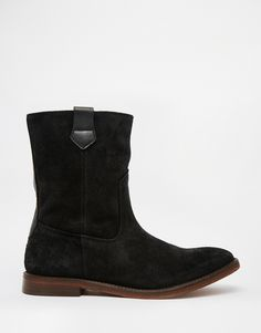 Image 2 of H by Hudson Hanwell Suede Calf Boots