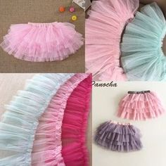 Pleated mesh lace trims ruffled tulle lace netting edging trims prom ballet lyrical dance Light Blue Pink Fuchsia - Trace Tutorial and Ideas Tutu Diy, Tutu En Tulle, Diy Tulle Skirt, Tulle Lace, Tulle Dress, Lace Fabric, Dress Skirt, Tulle Poms, Tutu Skirts