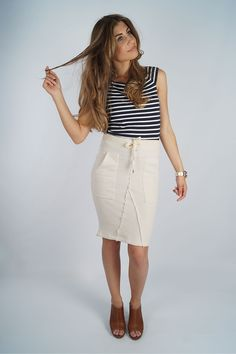 Blog - Ay captain, because we love the navy look!