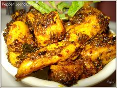 Pepper Jeera Chicken