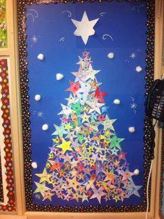 Christmas Classroom Display Photo Sparklebox Displays For The Christmas Bulletin Boards, Christmas Classroom Door, Preschool Christmas, Christmas Crafts For Kids, Xmas Crafts, Simple Christmas, Christmas Themes, Kids Christmas, Office Christmas