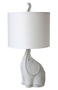 Utopia Elephant Table Lamp by Jonathan Adler Elephant Lamp, Elephant Table, White Elephant, Elephant Room, Elephant Stuff, Cute Blankets, Art Diy, Jonathan Adler, Home And Deco