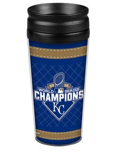 KC Royals 2015 World Series Champs 14oz Wrap Travel Tumbler http://www.rallyhouse.com/KC-Royals-WS-Champs-14oz-Wrap-Travel-Tumbler?utm_source=pinterest&utm_medium=social&utm_campaign=151101WORLDSERIES-KCRoyals $17.99