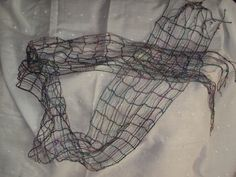 Sewing Machine made scarf