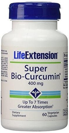 Life Extension Super BioCurcumin 400mg Vegetarian Capsules 60 ea -- Want additional info? Click on the image.