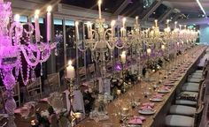 Candelabra Wedding Centerpieces, Wedding Hire, Event Styling, Chandelier, Ceiling Lights, Fairytale, Events, Color, Home Decor