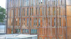 21 best btiment b atlanbois nantes images on pinterest nantes dtail de la faade est vue de lcole de la joliverie solutioingenieria Choice Image