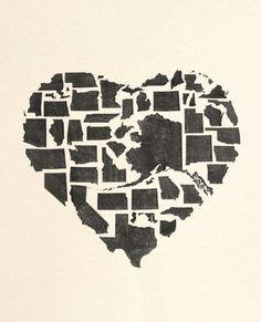 Cute art piece. Made in America!