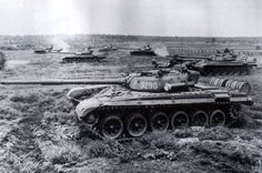 Polish tanks in the exercise. Army Vehicles, Armored Vehicles, T 72, Warsaw Pact, Hell On Wheels, Soviet Army, Military Armor, Battle Tank, Cold War
