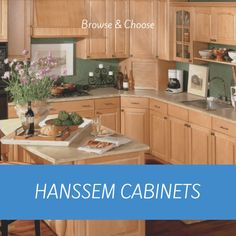 Hanssem cabinets are the perfect choice for your kitchen remodel. their cabinet construction and  sizes, as well as their slick finishes, door styles, and colors fit perfectly with contemporary kitchen update projects and the needs of modern homeowners.  .... #kitchencabinets #kitchendesign #kitchen #interiordesign #kitchenremodel #kitchenrenovation #kitchendecor #cabinets #kitchensofinstagram #homedecor #kitchenisland #kitcheninspiration #kitchengoals #design Kitchen Cabinets Showroom, Kitchen And Bath Showroom, Kitchen And Bath Design, Custom Kitchen Cabinets, Aqua Kitchen, New Kitchen, Kitchen Decor, Easy Kitchen Updates, Updated Kitchen