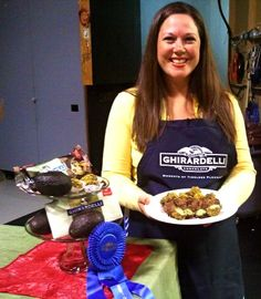 Showing my Avocado Truffles on TCL!