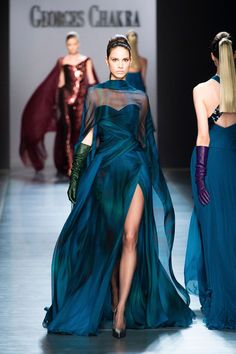 George Chakra at Couture Fall 2014