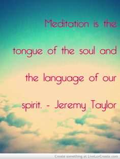 Meditation Quote http://www.reflectionway.com