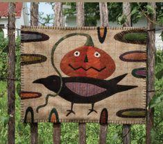 Wool Applique Patterns, Hand Applique, Rug Patterns, Pattern Designs, Felt Applique, Bird Patterns, Primitive Quilts, Primitive Folk Art, Wool Wall Hanging