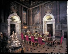 The saloon at Blenheim Palace