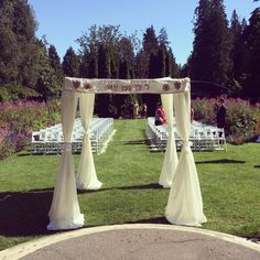 Ceremony site- Amelia and Mike (August 2014)