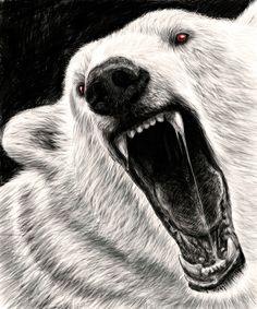 Mad Polar Bear