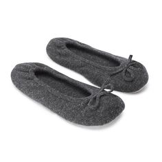 Cashmere Ballet Slippers | Slippers | Nightwear | Clothing | The White Company UK