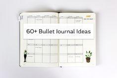 60+ Bullet Journal Entry Ideas
