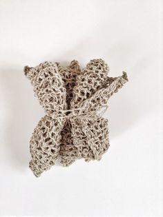 Paris To Go: Knitted Hemp Cloths