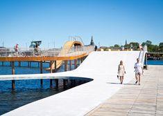 Kalvebod Waves by JDS Architects and KLAR Architects / @Dezeen magazine | #copenaguense