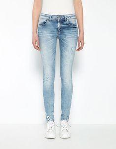 Bershka España - Jeans Skinny Push up Bershka