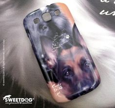 DOG: Buffy & Layka (German Shepherd) | Personalized Samsung S3 cover