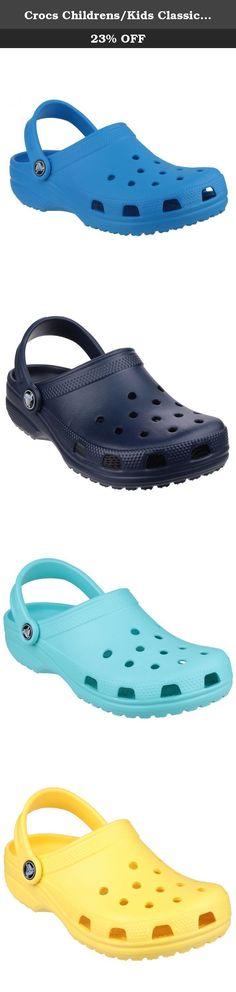 New Boys Girls Crocs Classic Burger Clog Shoes 4//5 6//7 8//9 10//11 12//13 1 2 3