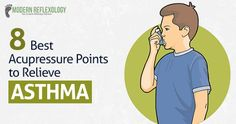 #Asthma can be reduced to a great extent by accessing some #Acupressure points in the body. #ModernReflexology Visit Here: http://www.modernreflexology.com/acupressure-points-relieve-asthma/