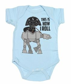 Star Wars This Is How I Roll Vader Onesie Snapsuit (Baby Blue, 12-18 Months) Star Wars,http://www.amazon.com/dp/B00F63GGAO/ref=cm_sw_r_pi_dp_ZX6Tsb1AR1E1KZQ1